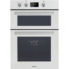 Indesit IDD6340WH Indesit Double Built-In Oven In White