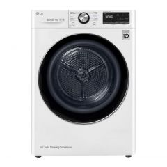 LG FDV909W Wifi Connected 9Kg Heat Pump Tumble Dryer - White - A+++ Rated