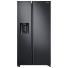 Samsung RS65R5401B4 Plumbed, Frost Free, Side By Side Refrigerator