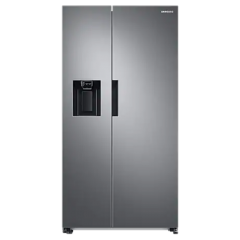Samsung RS67A8810S9 Plumbed Ice + Water, Side By Side Refrigerator